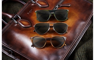 Collaboration Oliver Peoples et Berluti